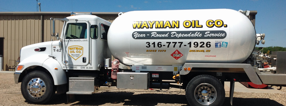 Call Wayman Oil for Year-Round Dependable Service 316-777-1926