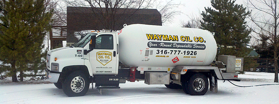 Wayman Propane Delivery