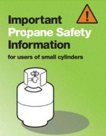 Propane Safety information for small cylinders