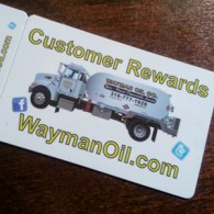 Sign up for our new Customer Rewards Card for a chance to win a Gas Grill
