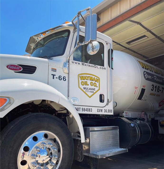 Wayman Oil Co. truck